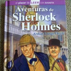 Libros de segunda mano: ARTHUR CONAN DOYLE. AVENTURAS DE SHERLOCK HOLMES.. Lote 246182585