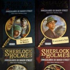 Libros de segunda mano: TRACY MACK Y MICHAEL CITRIN. SHERLOCK HOLMES Y LOS IRREGULARES DE BAKER STREET.. Lote 246184225