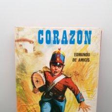 Libros de segunda mano: CORAZÓN. EDMUNDO DE AMICIS. EDICIONES BOGA ARGITALDARIA 1974. (ENVÍO 2,50€). Lote 245920210