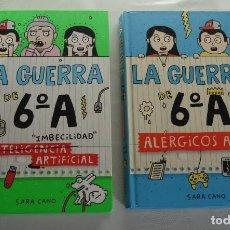 Libros de segunda mano: LOTE DE 2 LIBROS GUERRA DE 6ºA. Lote 247463665