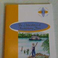 Libros de segunda mano: THE ADVENTURES OF HUCKLEBERRY FINN, BURLINGTON. Lote 247486810