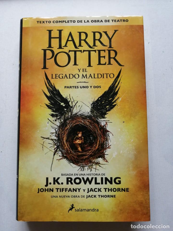 HARRY POTTER Y EL LEGADO MALDITO. J.K. ROWLING. (Libros de Segunda Mano - Literatura Infantil y Juvenil - Novela)
