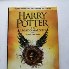 Libros de segunda mano: HARRY POTTER Y EL LEGADO MALDITO. J.K. ROWLING.. Lote 248095160