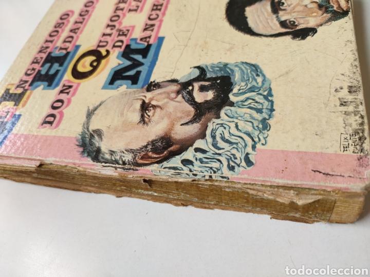 Libros de segunda mano: El ingenioso hidalgo don Quijote de la Mancha. Adaptación para niños - Foto 2 - 252457635