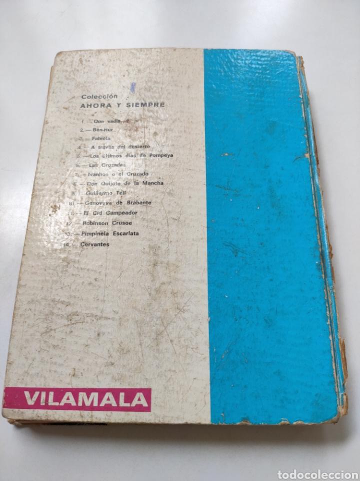 Libros de segunda mano: El ingenioso hidalgo don Quijote de la Mancha. Adaptación para niños - Foto 3 - 252457635