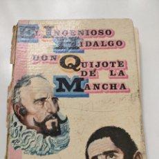 Libros de segunda mano: EL INGENIOSO HIDALGO DON QUIJOTE DE LA MANCHA. ADAPTACIÓN PARA NIÑOS. Lote 252457635