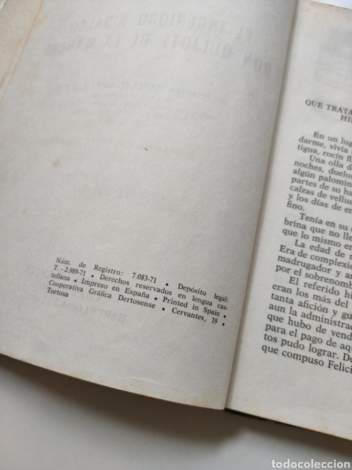 Libros de segunda mano: El ingenioso hidalgo don Quijote de la Mancha. Adaptación para niños - Foto 6 - 252457635