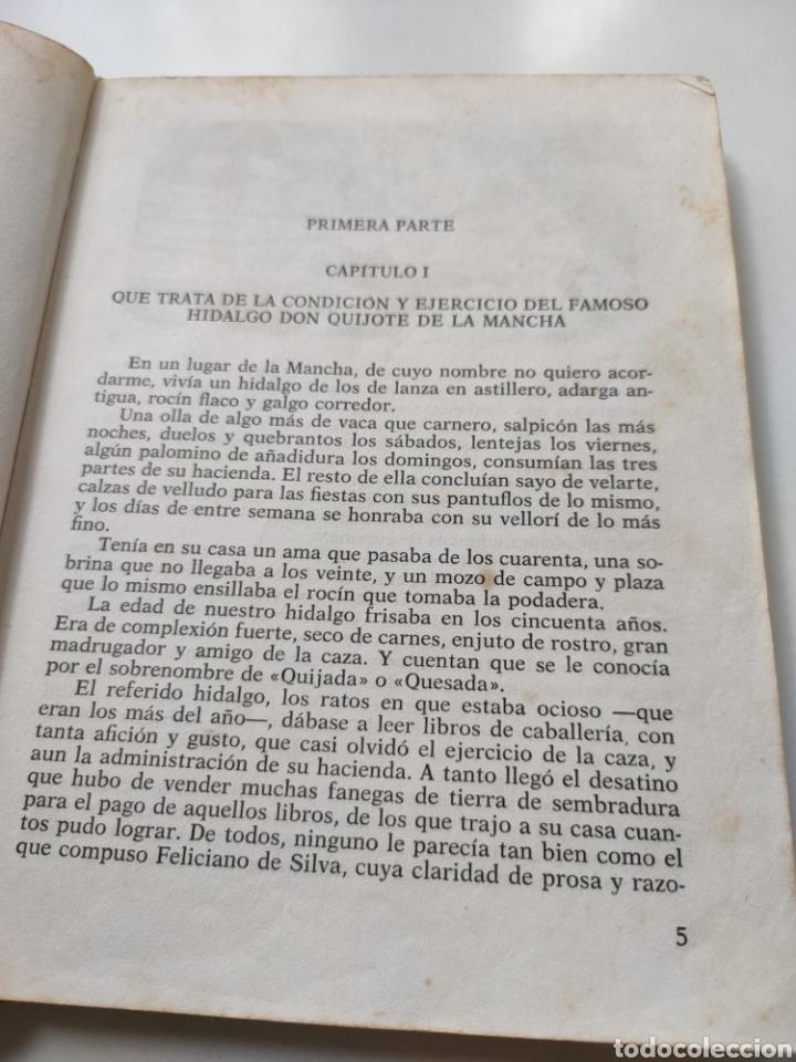 Libros de segunda mano: El ingenioso hidalgo don Quijote de la Mancha. Adaptación para niños - Foto 7 - 252457635