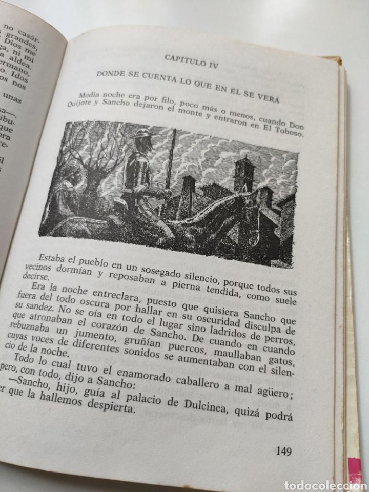Libros de segunda mano: El ingenioso hidalgo don Quijote de la Mancha. Adaptación para niños - Foto 8 - 252457635