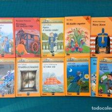 Libros de segunda mano: EL BARCO DE VAPOR SM LOTE 10 LIBROS VINTAGE. Lote 252631710