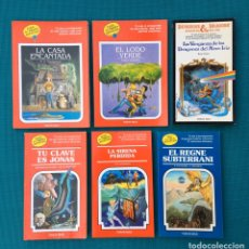 Libros de segunda mano: ELIGE TU PROPIA AVENTURA LOTE 6 LIBROS TIMUN MAS VINTAGE. Lote 252633380