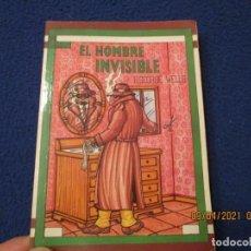Libros de segunda mano: EL HOMBRE INVISIBLE H. G. WELLS GRUPO EDIDER COLECCION JUVENIL Nº 11. Lote 254113955
