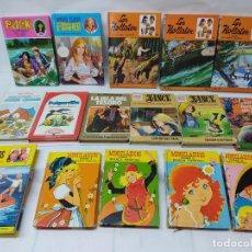 Libros de segunda mano: LOTE DE 16 LIBROS JUVENILES VER FOTOS.HOLLISTER,NANCY,MINICLASICOS,LOS GEMELOS... Lote 255925255