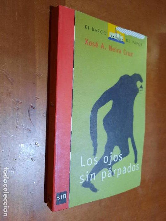 LOS OJOS SIN PÁRPADOS. XOSÉ A. NEIRA CRUZ. EL BARCO DE VAPOR. SM. RÚSTICA. BUEN ESTADO (Libros de Segunda Mano - Literatura Infantil y Juvenil - Novela)