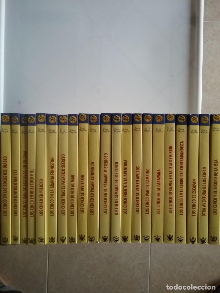 COLECCIÓN COMPLETA LOS CINCO, POR ENID BLYTON, EDITORIAL RBA, 2007 (Libros de Segunda Mano - Literatura Infantil y Juvenil - Novela)