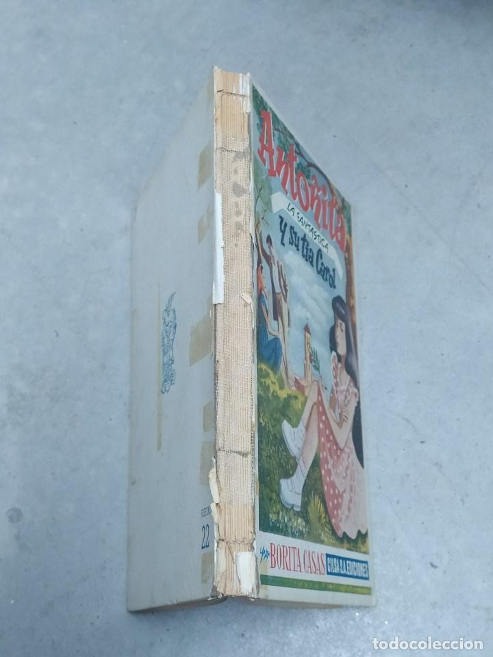 Libros de segunda mano: ANTOÑITA LA FANTÁSTICA Y SU TÍA CAROL - BORITA CASAS - ED.GILSA 1ª EDICIÓN 1949 - DIBUJOS ZARAGÜETA - Foto 2 - 257348920