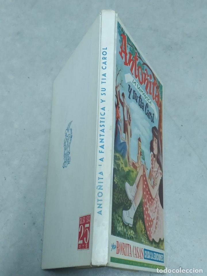 Libros de segunda mano: ANTOÑITA LA FANTÁSTICA Y SU TÍA CAROL - BORITA CASAS - ED.GILSA 2ª EDICIÓN 1950 - DIBUJOS ZARAGÜETA - Foto 2 - 257349485