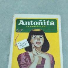 Libros de segunda mano: ANTOÑITA LA FANTÁSTICA SE PONE DE LARGO - BORITA CASAS - ED.GILSA 1ªEDICIÓN 1951 - DIBUJOS ZARAGÜETA. Lote 257349760