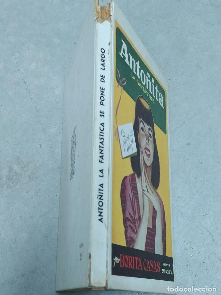Libros de segunda mano: ANTOÑITA LA FANTÁSTICA SE PONE DE LARGO - BORITA CASAS - ED.GILSA 1ªEDICIÓN 1951 - DIBUJOS ZARAGÜETA - Foto 2 - 257349760