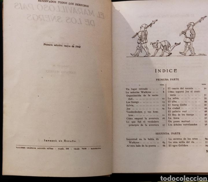 Libros de segunda mano: El Maravilloso País de los Snergs.1 edición 1942.E.A Wyke-Smith - Foto 2 - 257351200