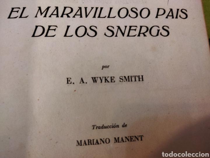 Libros de segunda mano: El Maravilloso País de los Snergs.1 edición 1942.E.A Wyke-Smith - Foto 3 - 257351200
