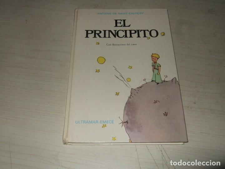 LIBRO EL PRINCIPITO - ULTRAMAR EMECÉ - TAPA DURA - SEGUNDA EDICIÓN 1976 (Libros de Segunda Mano - Literatura Infantil y Juvenil - Novela)