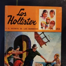 Libros de segunda mano: LOS HOLLISTER Y EL SECRETO DE LAS MARMOTAS. N⁰23. EDITORIAL TORAY. 1976. JERRY WEST. Lote 257718055