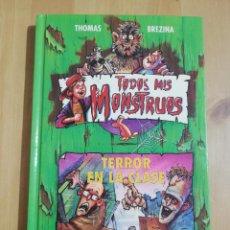 Libros de segunda mano: TERROR EN LA CLASE (THOMAS BREZINA). Lote 257978240