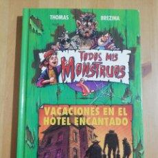 Libros de segunda mano: VACACIONES EN EL HOTEL ENCANTADO (THOMAS BREZINA). Lote 257978430