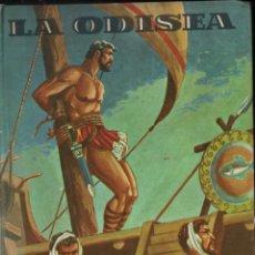 Libros de segunda mano: HOMERO : LA ODISEA (EDITORIAL FELICIDAD FHER, 1952, ). Lote 258999710