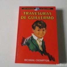Libros de segunda mano: TRAVESURAS DE GUILLERMO, TAPA BLANDA1979. Lote 259234115