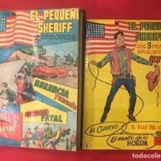 Libros de segunda mano: KIT EL PEQUEÑO SHERIFF, DEL 1 AL 80, HISPANO AMERICANA DE EDICIONES, AÑOS 50. Lote 261356895