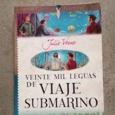 Libros de segunda mano: 20.000 LEGUAS DE VIAJE SUBMARINO (JULIO VERNE) (SERVILIBRO). Lote 261581330