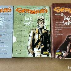 Livres d'occasion: COLECCIÓN CORTO MALTÉS. COFRES 1-2-3 COMPLETO 29 TOMOS -HUGO PRATT. Lote 262113645