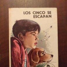 Libros de segunda mano: LOS CINCO SE ESCAPAN - ENID BLYTON. Lote 262349960
