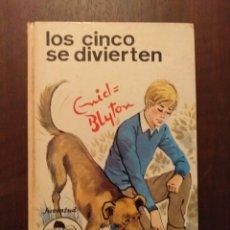 Libros de segunda mano: LOS CINCO SE DIVIERTEN - ENID BLYTON. Lote 262350390