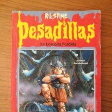 Libros de segunda mano: PESADILLAS. LA LEYENDA PERDIDA. STINE. EDICIONES B. 1ª EDICION. Lote 262358315