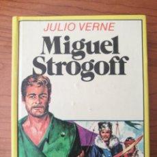 Libros de segunda mano: MINI LIBRO ILUSTRADO, MIGUEL STROGOFF, JULIO VERNE. EDITORIAL BRUGUERA, 2ª EDICIÓN 1984. Lote 262357205