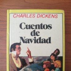 Libros de segunda mano: MINI LIBRO ILUSTRADO, CUENTOS DE NAVIDAD. CHARLES DICKENS. EDITORIAL BRUGUERA, 2ª EDICIÓN 1984. Lote 262357280