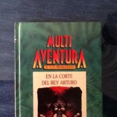 Libros de segunda mano: MULTIAVENTURA. EN LA CORTE DEL REY ARTURO. INGELEK 1986 M.B.E.. Lote 262922175