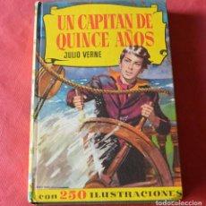Libros de segunda mano: UN CAPITAN DE QUINCE AÑOS - JULIO VERNE - COLECCION HISTORIAS - BRUGUERA. Lote 263004965