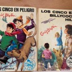 Libros de segunda mano: LIBROS COLECCIÓN LOS CINCO. Lote 263112520
