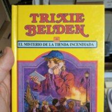 Libros de segunda mano: TRIXIE BELDEN MISTERIO EN LA TIENDA INCENDIADA 20 SUSAETA. Lote 263193255