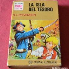 Libros de segunda mano: LA ISLA DEL TESORO - R. L. STEVENSON - HISTORIAS SELECCION - BRUGUERA. Lote 263539430