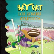 Libros de segunda mano: BAT PAT (BATPAT), Nº 11: LOS ZOMBIS ATLETICOS - MONTENA. Lote 263591050
