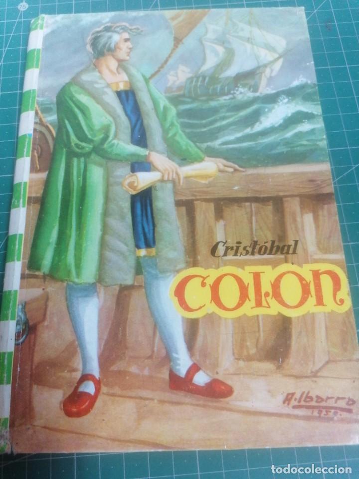 CRISTÓBAL COLÓN. EDITORIAL FELICIDAD. N. 1 (Libros de Segunda Mano - Literatura Infantil y Juvenil - Novela)