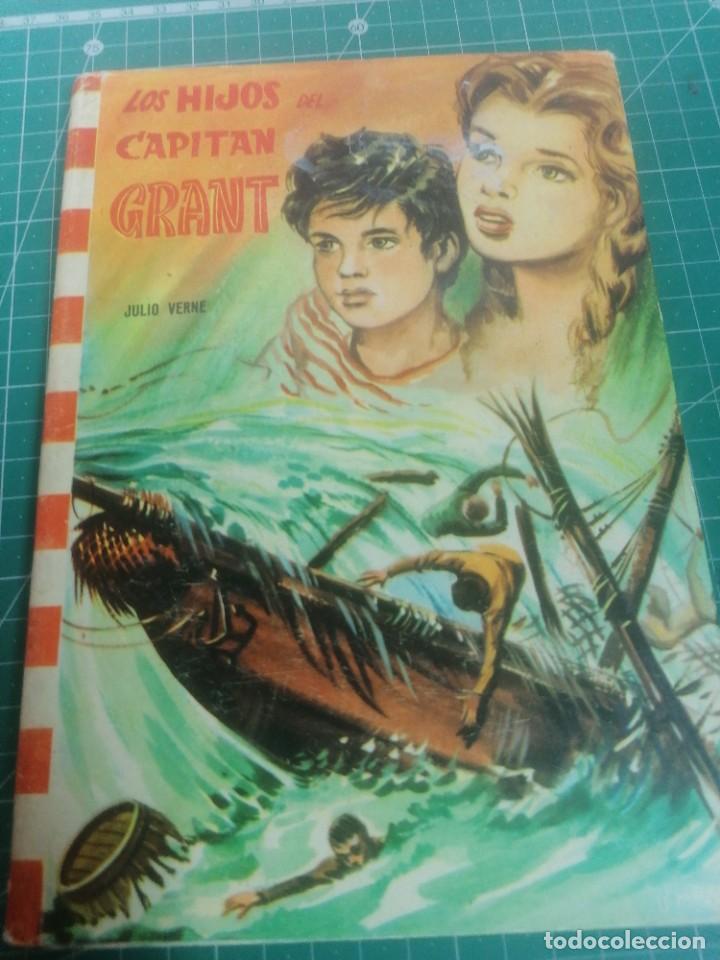 VERNE. LOS HIJOS DEL CAPITÁN GRANT. EDITORIAL FELICIDAD. N. 28 (Libros de Segunda Mano - Literatura Infantil y Juvenil - Novela)