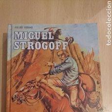 Libros de segunda mano: LIBRO CLÁSICOS DE JUVENTUD , MIGUEL STROGOFF, JULES VERNE, AÑO 1981. Lote 265514019