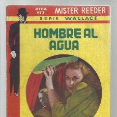 Libros de segunda mano: COLECCIÓN MISTERIO TOR 831: HOMBRE AL AGUA, 1951, BUEN ESTADO. COLECCIÓN A.T.. Lote 268158844