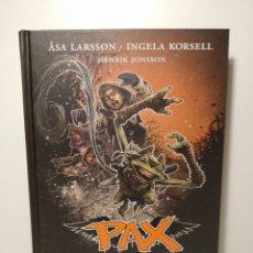 Libros de segunda mano: PAX. HENRIK JONSSON. LA PESTE. NÚM 7. LARSSON,ASA. KORSELL,INGELA. DESTINO.. Lote 268160114